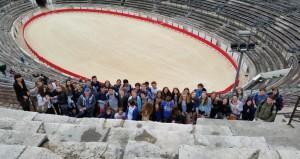 2015 Uitwisseling Frankrijk Bezoek aan Nîmes 2