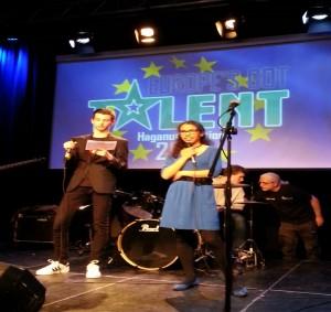 2015 Ontvangstweek Europese Avond met alle uitwisselingsscholen op het Haganum