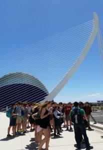 2014 Uitwisseling Alicante Bezoek aan Valencia