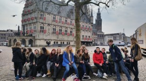 2015 Ontvangstweek Bezoek Binnenhof (uitwisseling Italië)