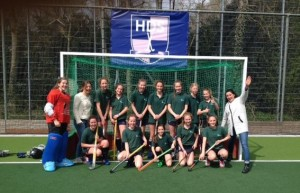 damesteam Shell-hockeytoernooi 2015